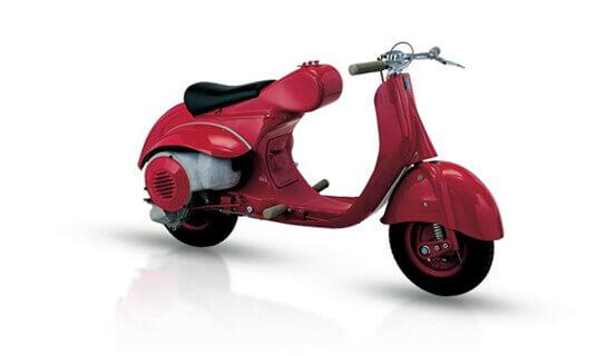 Scooter pequeño Vespa 1947