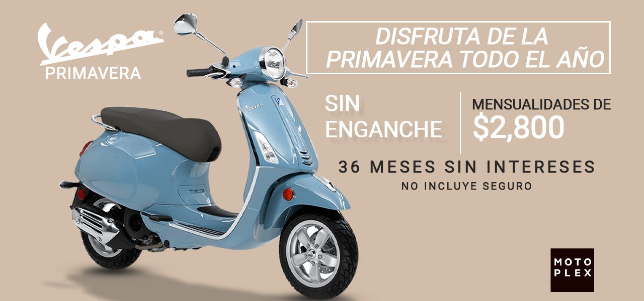 Moto Vespa Clásica Primavera