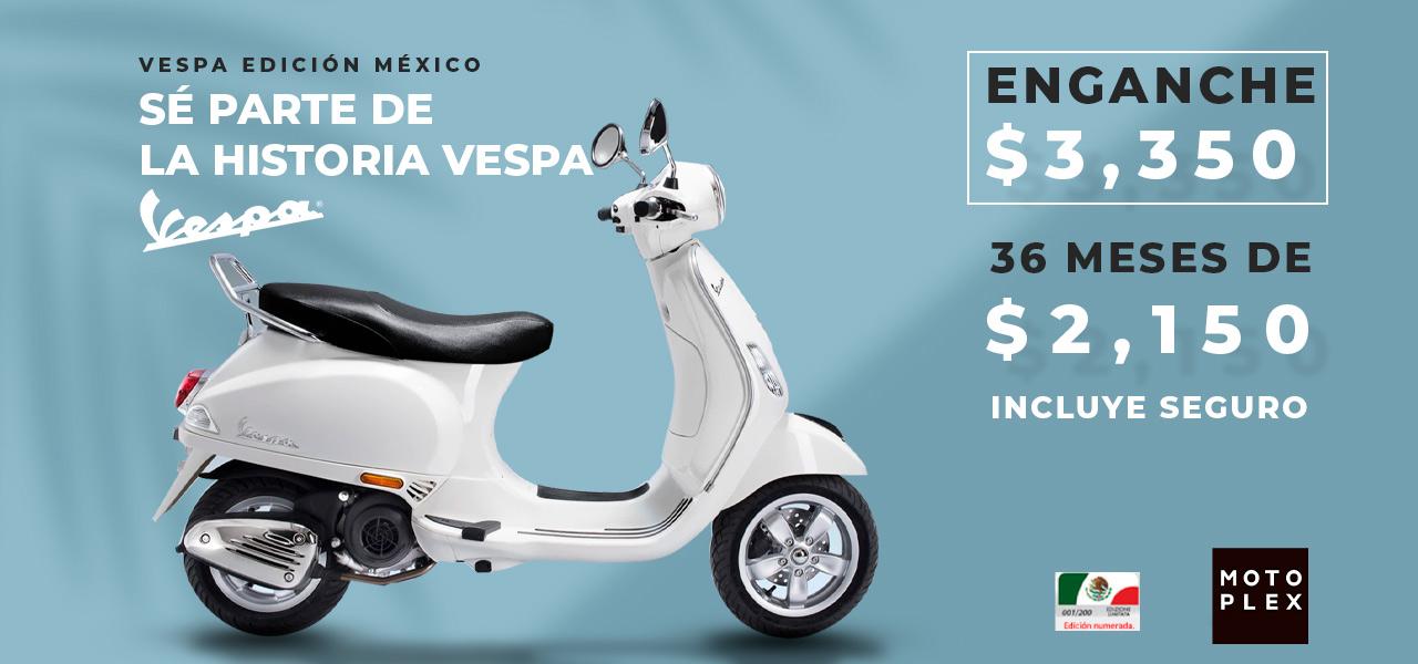 Vespa Edición México Oferta Septiembre