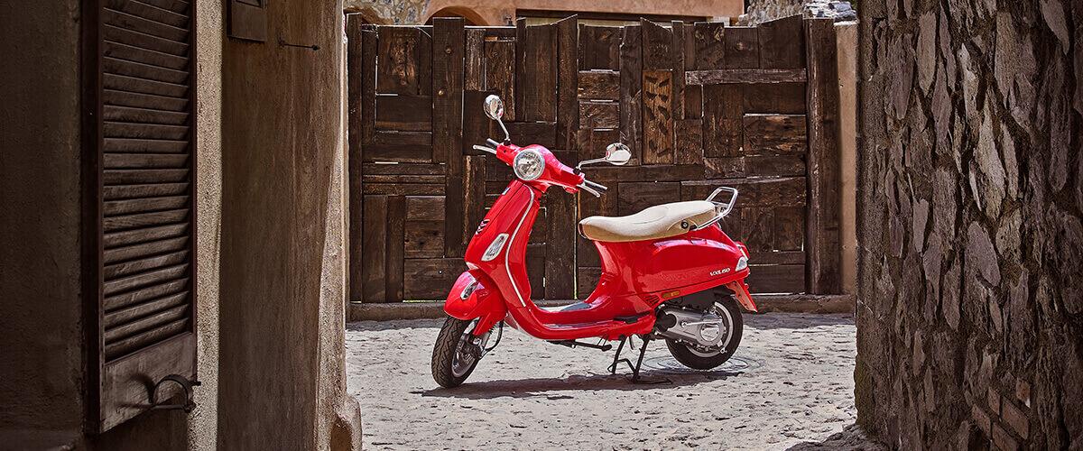 Vespa Edición México roja