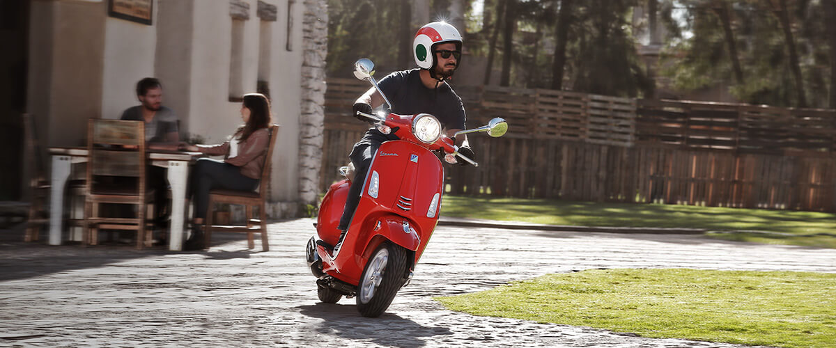 Compra una moto Vespa